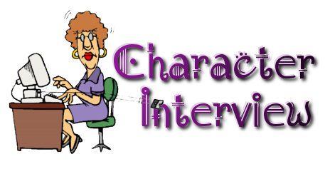 character interviews logo