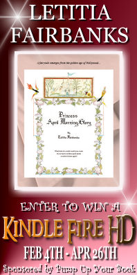 Princess April Morning-Glory long banner