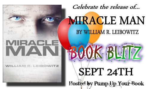 Miracle Man book blitz banner